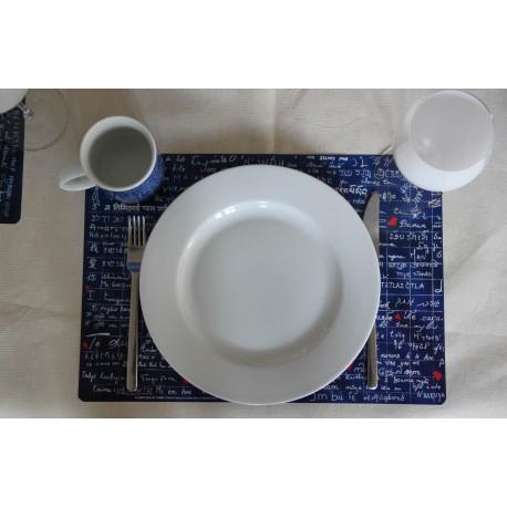 Set de sobremesa izquierdo