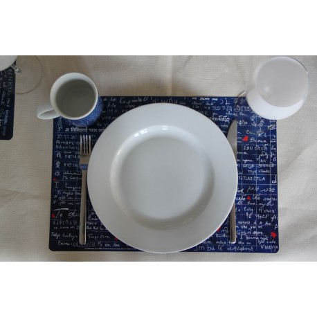 Table set left