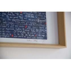Poster numéroté et signé